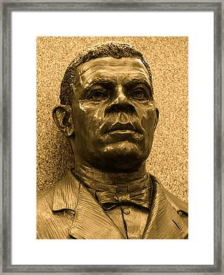 Booker T Framed Print by Kusumba Gallery