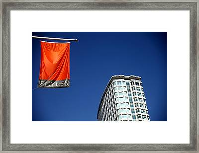Books Right To The Point Framed Print by Jez C Self