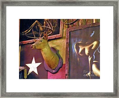 Boone And Crockett Wall Framed Print