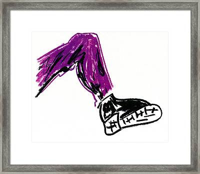 Boot Framed Print by Patrick Morgan