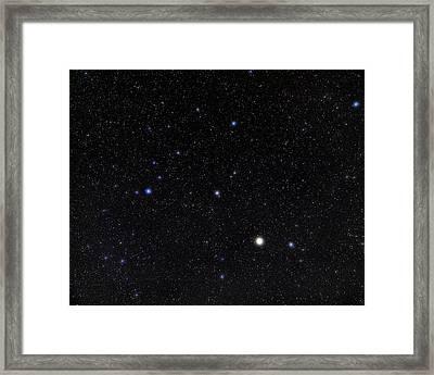 Bootes Constellation Framed Print by Eckhard Slawik