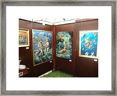 Booth 4 Framed Print by Patrick Anthony Pierson