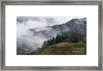 Boquete Highlands Framed Print by Heiko Koehrer-Wagner