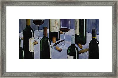Bordeaux Framed Print by Geoff Powell