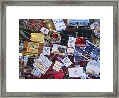 Bordello Paraphernalia 2 - Wallace Idaho Framed Print by Daniel Hagerman