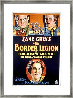 Border Legion, Richard Arlen, Jack Framed Print by Everett