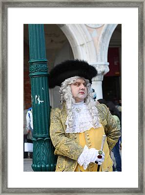 Bored And Pompous Framed Print