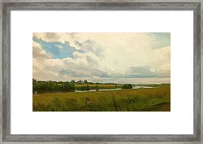 Borgharen Netherlands Framed Print by Nop Briex
