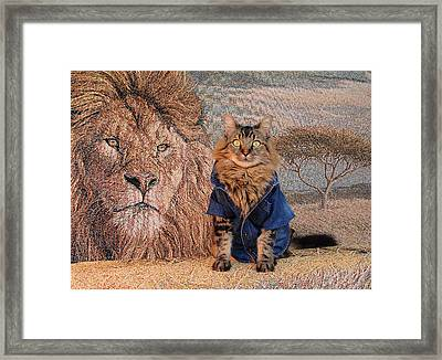 Born Free Framed Print by Joann Biondi