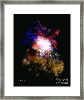 Born On The 4th Of July Framed Print by Dale   Ford