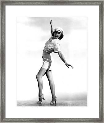 Born To Dance, Eleanor Powell, 1936 Framed Print