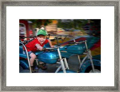 Framed Print featuring the photograph Born To Ride by Kelly Hazel