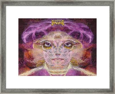 Born To The Purple Framed Print by Glen Heberling