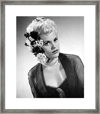 Born Yesterday, Judy Holliday, 1950 Framed Print