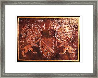 Bosnia Kingdom Framed Print