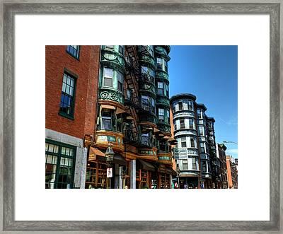 Boston 017 Framed Print by Lance Vaughn