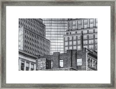 Boston Building Facades II Framed Print by Clarence Holmes