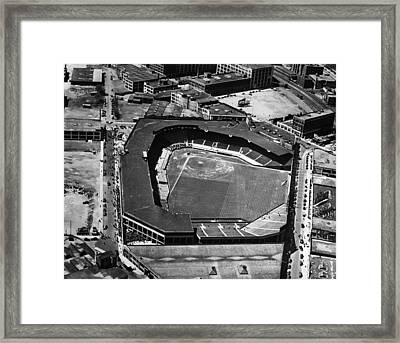 Boston: Fenway Park Framed Print by Granger
