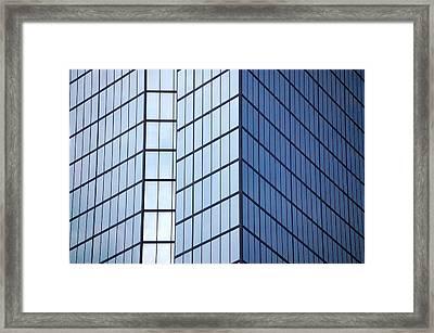 Boston Squares Framed Print