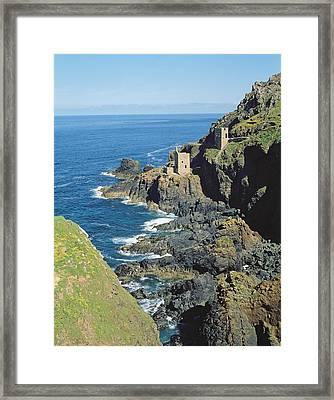 Botallack Mine Framed Print