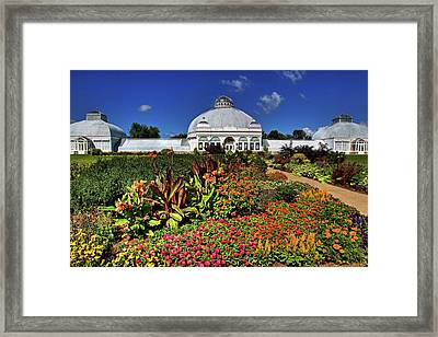 Framed Print featuring the photograph Botanical Botanical Gardens by Don Nieman