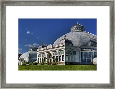 Framed Print featuring the photograph Botanical Gardens Hot House by Don Nieman