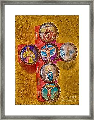 Bottled Religion Framed Print