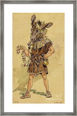 Bottom - A Midsummer Night's Dream Framed Print by C Wilhelm