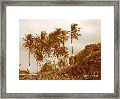Bottom Bay Barbados Framed Print