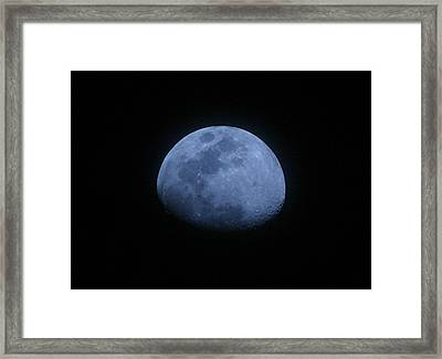 Bottomless Moon Framed Print