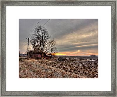 Bottoms Sunrise Framed Print by William Fields