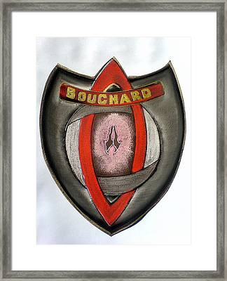 Bouchard Family Crest Framed Print