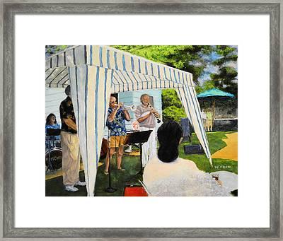 Boulder Lovers Of Jazz Summer Party Framed Print