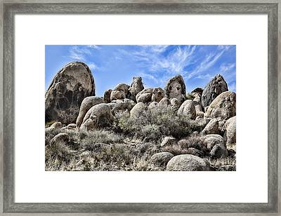Boulder Populated Framed Print by Kelley King