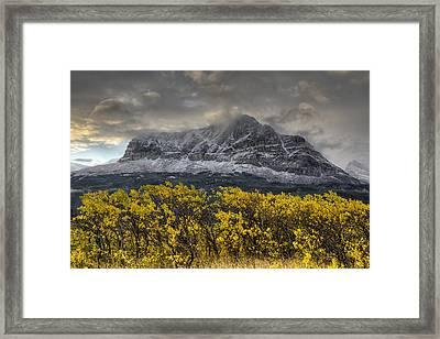 Boulder Ridge Framed Print by Mark Kiver