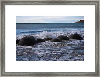 Boulders Framed Print by Graeme Knox