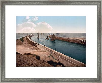 Boulogne-billancourt - France - The Piers Framed Print by International  Images