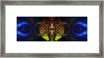 Bound By Desire Framed Print by David Kleinsasser