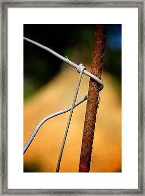 Bound For Good Framed Print by Odd Jeppesen