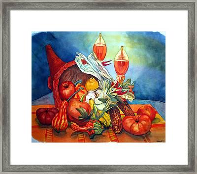 Bounty Framed Print by Gerald Carpenter
