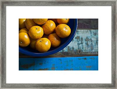 Bounty Framed Print by Tammy Lee Bradley