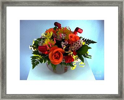 Bouquet Framed Print by Dale   Ford