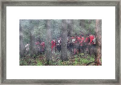 Bouquet In Command Framed Print by Randy Steele