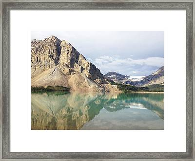 Bow Lake Framed Print by William Andrew