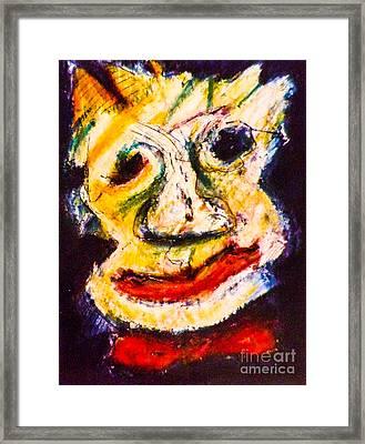 Bow-tie Man Framed Print by Bill Davis