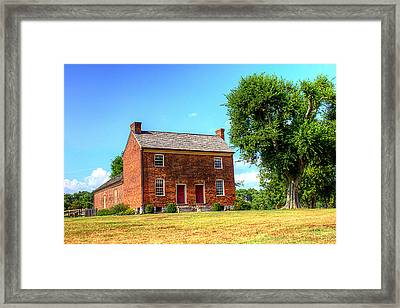 Bowen Plantation House 002 Framed Print by Barry Jones