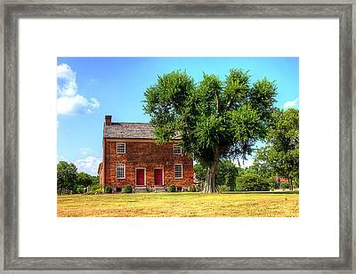 Bowen Plantation House Framed Print by Barry Jones