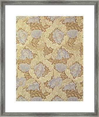 Bower Wallpaper Design Framed Print by William Morris