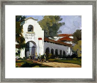 Bowers Museum Framed Print