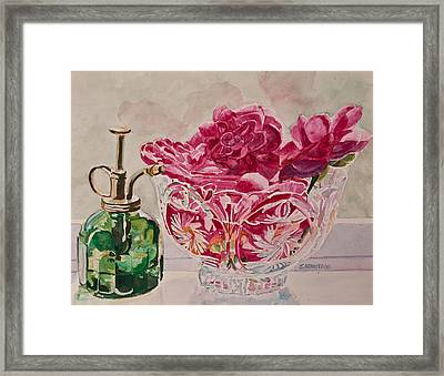 Bowl Full Of Spring Framed Print by Jenny Armitage